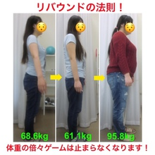リバウンドの恐怖!加速する食欲と止まることのない体重増加!